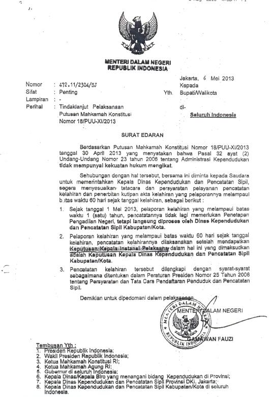 SuratMendagri-tgl.6Mei2013mengenaiTindakLanjutPutusanMK
