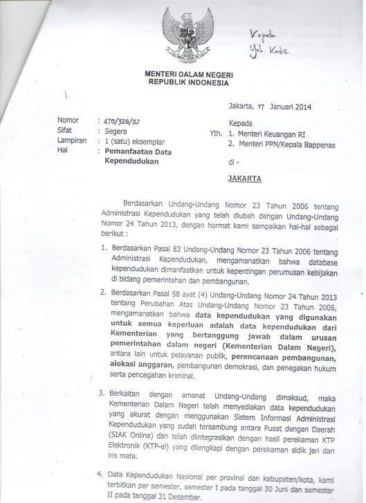 Surat5Mendagri_17012014_PemanfaatanDataKependuduk